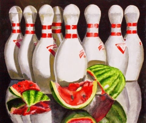 <strong>The Summer League</strong><br> Joining a bowling team with a bunch of goobers in watermelon country was something Raymaond Stanzak never envisioned for himself…